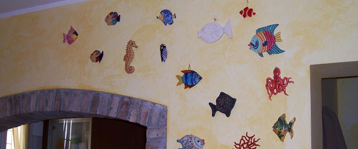 Velatura della parete